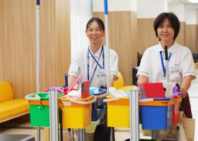 写真:病院清掃業務